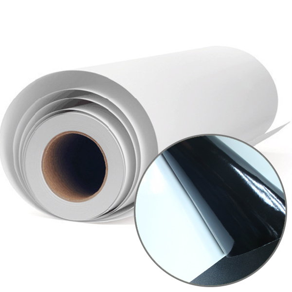 Self Adhesive Vinyl Adhesive Black Color