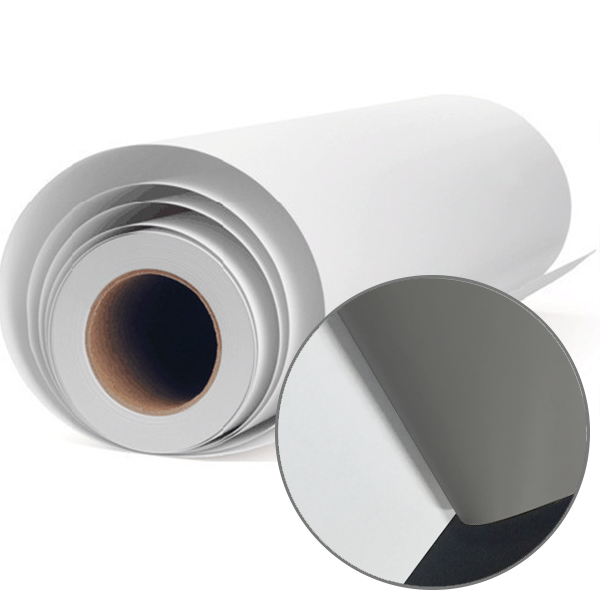 Self Adhesive Vinyl Adhesive Grey Color