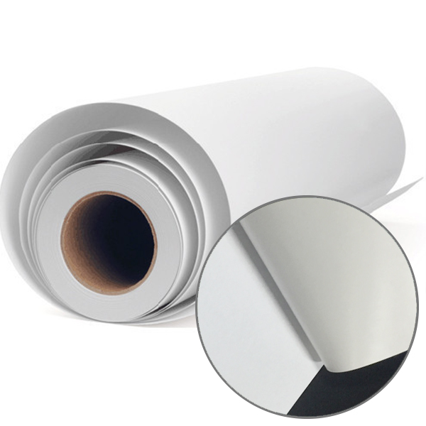 Self Adhesive Vinyl Adhesive White Color