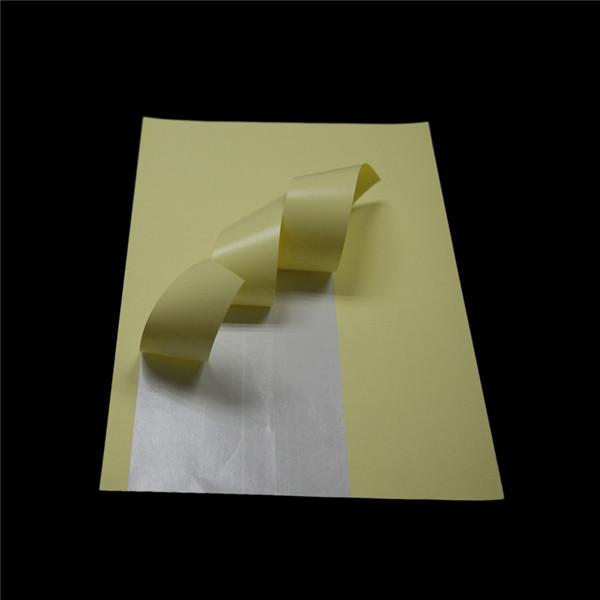 Cast Coated Paper Sticker