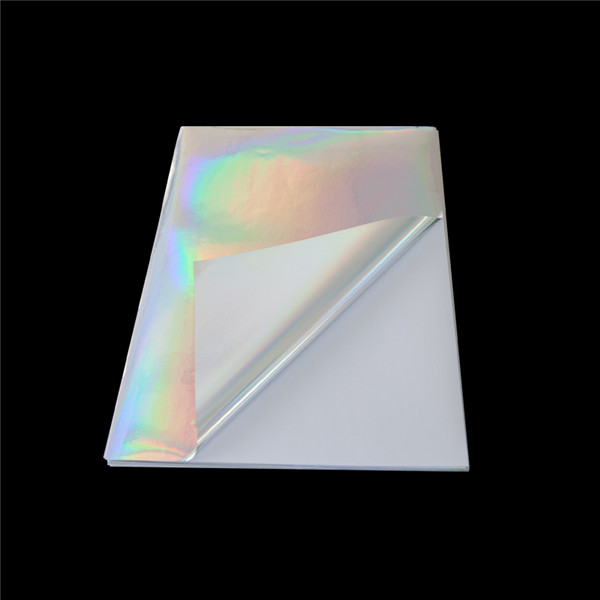 Self Adhesive holographic sticker