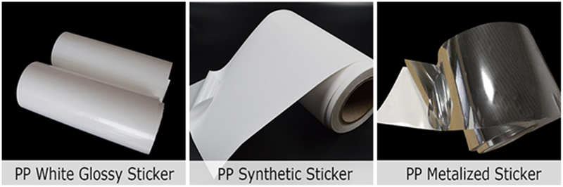 Self Adhesive PP Sticker