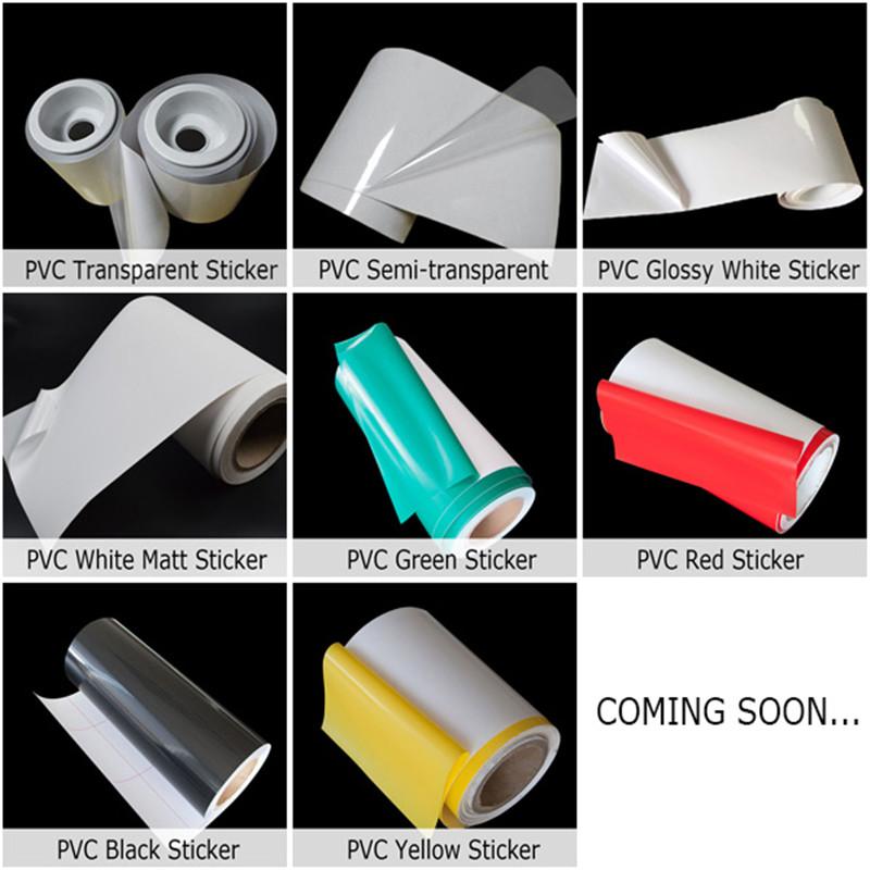 Self Adhesive PVC Sticker