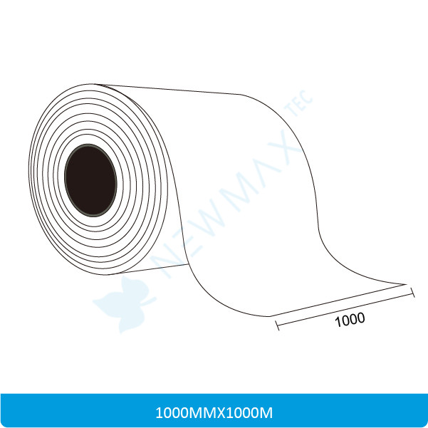 Sticker Paper Jumbo Roll Size