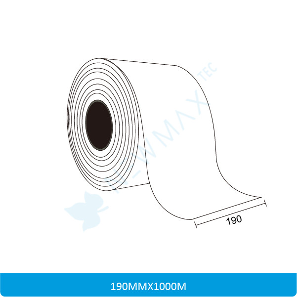 Sticker Paper Roll Size